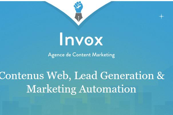 Invox - Content Marketing : Formation par E-Mail avec Invox