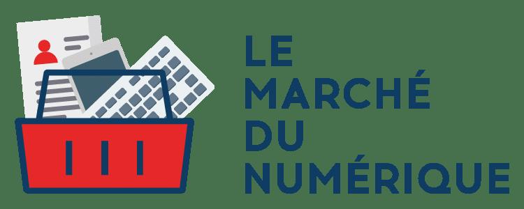 logo marche numerique - Le Marché du Numérique à Lyon : 2 jours 100% recrutement
