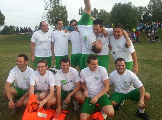 Défi sportif - équipe Ipline
