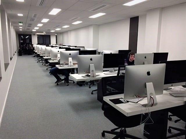 salles de travail école 101
