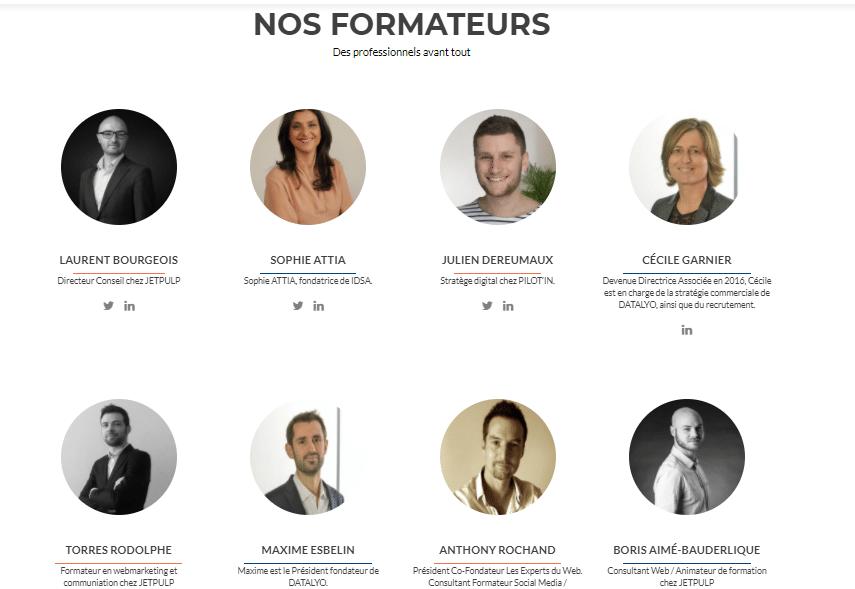 formateurs 2 - ALL DIGITAL: Le site de veille digitale lancé par la CCI Lyon Métrople