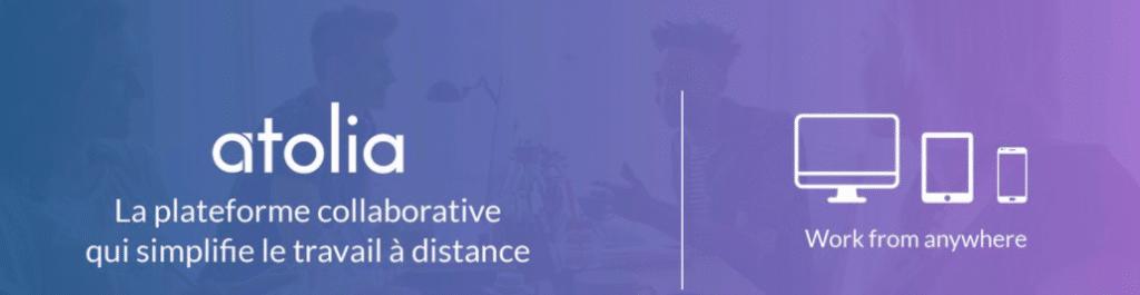 bandeau atolia 1024x265 - Une application collaborative pour organiser, communiquer et partager