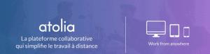 bandeau atolia 300x78 - Une application collaborative pour organiser, communiquer et partager