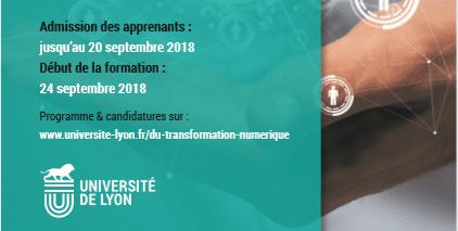 Admission DU transformation numérique