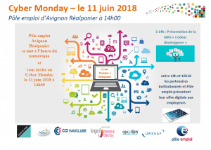 Cyber Monday 11 juin 2018 - Avignon