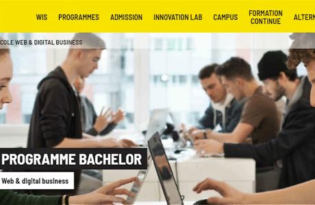 formation post bac aux métiers du digital