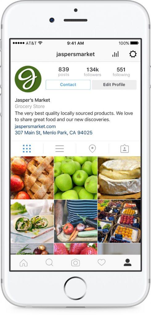 compte professionnel instagram 490x1024 - Comment utiliser Instagram comme outil d'acquisition ?