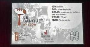 Agenda Le Banquet de LCDW