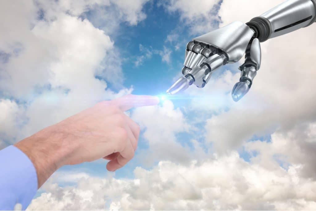contenu robots vs contenu homme 1024x683 - IA : contenu généré par des robots vs contenu généré par l´homme
