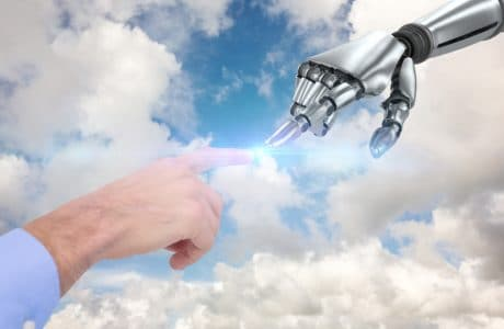contenu robots vs contenu homme 460x300 - IA : contenu généré par des robots vs contenu généré par l´homme
