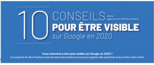 10 conseils seo 300x127 - Être visible sur Google en 2020