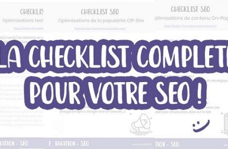 checklist seo 460x300 - Conseils pour travailler son SEO