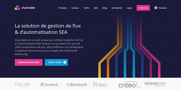 Channable - La solution de gestion de flux & d'automatisation SEA_ - www.channable.com