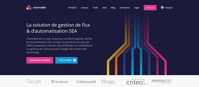 Channable - La solution de gestion de flux & d'automatisation SEA_ - www.channable.com
