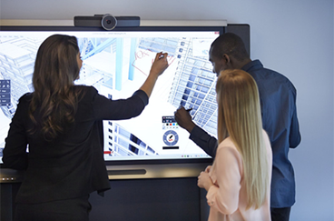 Ecran interactif réunion